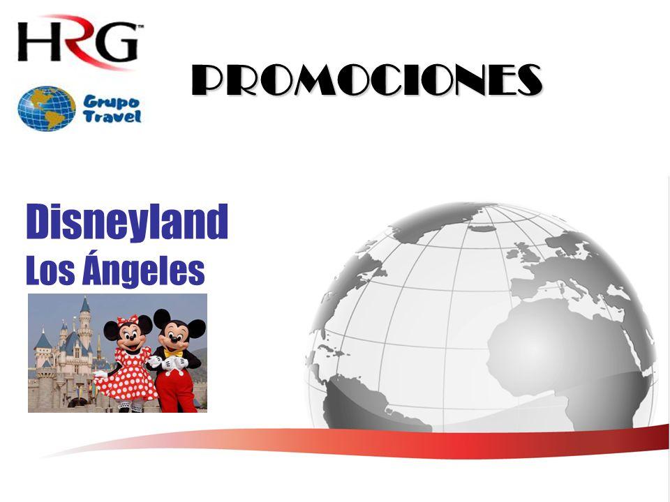 PROMOCIONES Disneyland Los Ángeles
