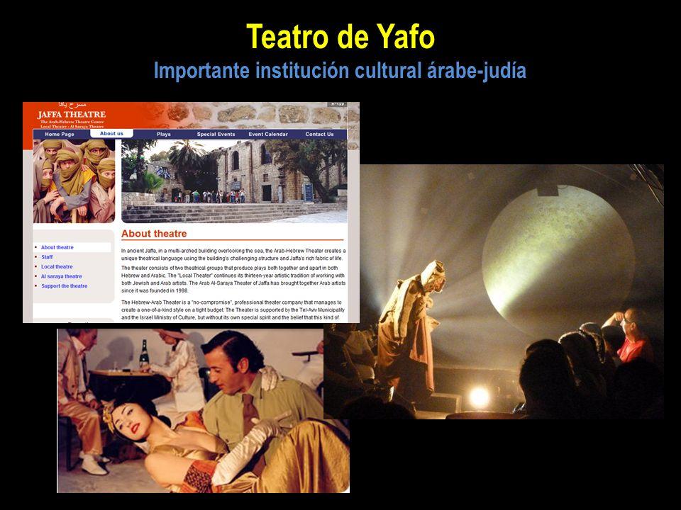 Teatro de Yafo Importante institución cultural árabe-judía