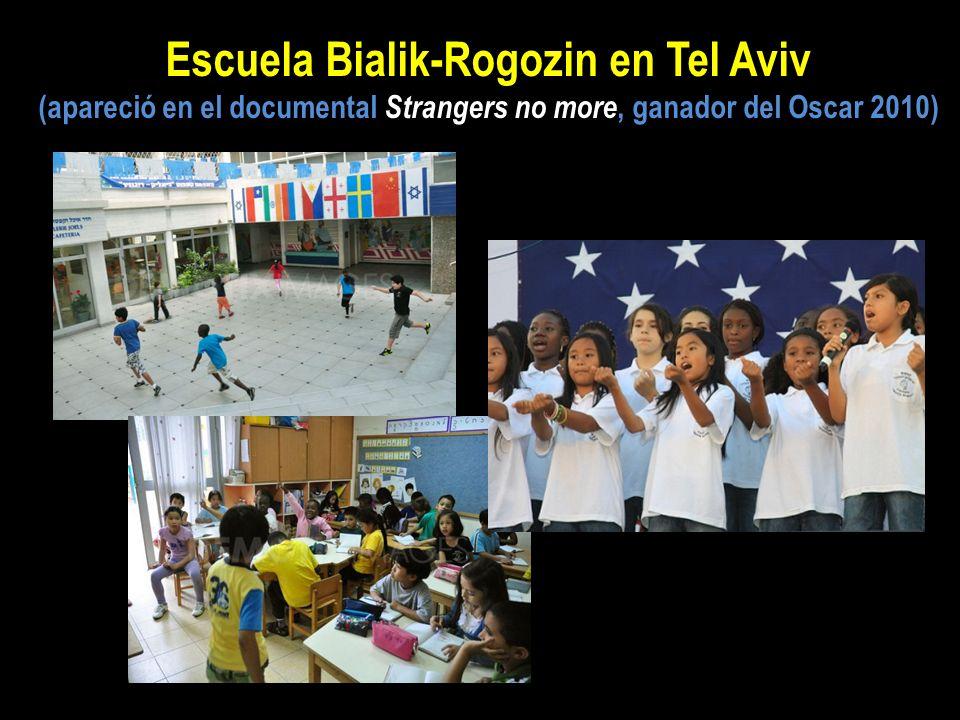 Escuela Bialik-Rogozin en Tel Aviv (apareció en el documental Strangers no more, ganador del Oscar 2010)