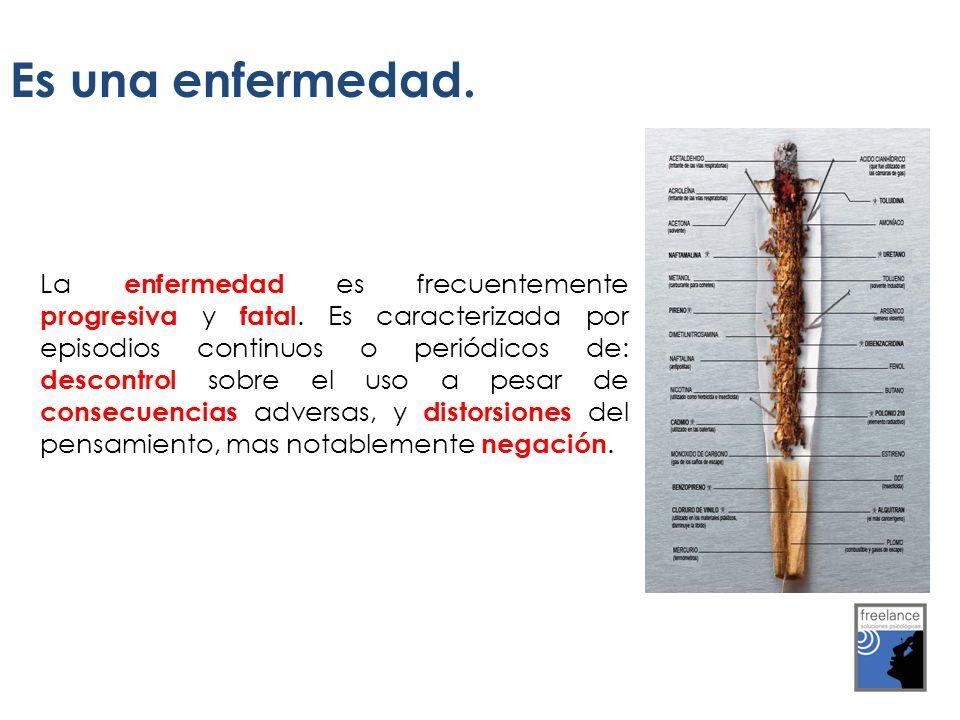 El tabaco es la primera causa de enfermedad, invalidez y muerte prematura del mundo.