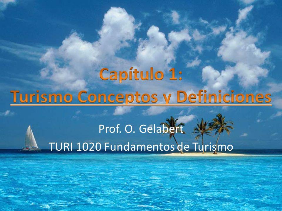 Concepto y definiciones del turismo El concepto de turismo puede ser estudiado desde diversas perspectivas y disciplinas, dada la complejidad de las relaciones entre los elementos que lo forman.