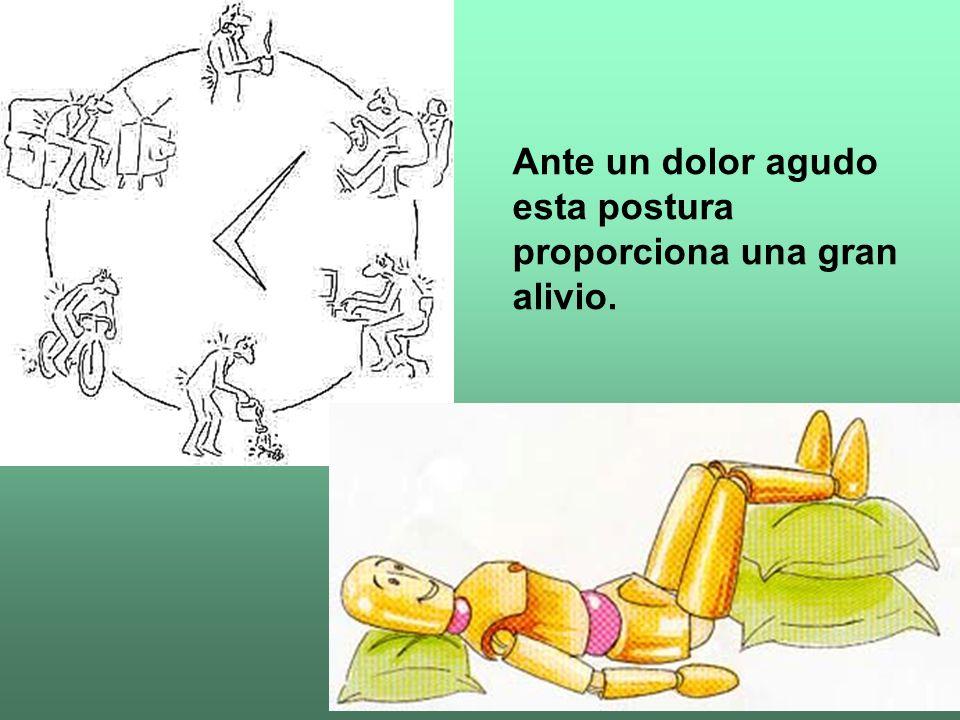 1. Espalda apoyada en el respaldo 2. Rodillas al nivel de las caderas