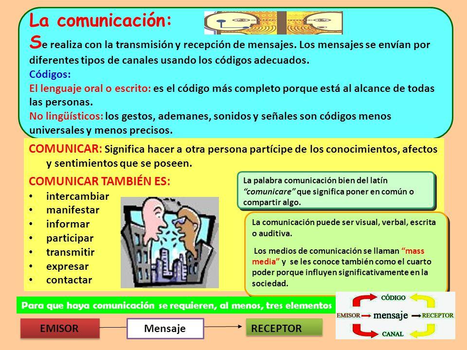 MEDIOS DE COMUNICACIÓN Son el conjunto de empresas dedicadas a la divulgación pública de información Facilitan la comunicación entre los seres humanos.