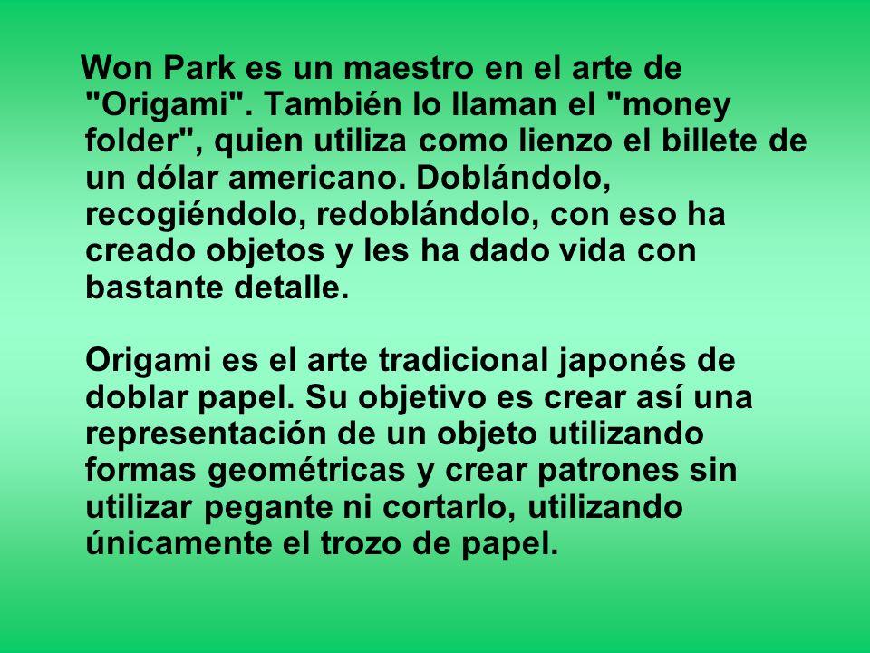 Won Park es un maestro en el arte de