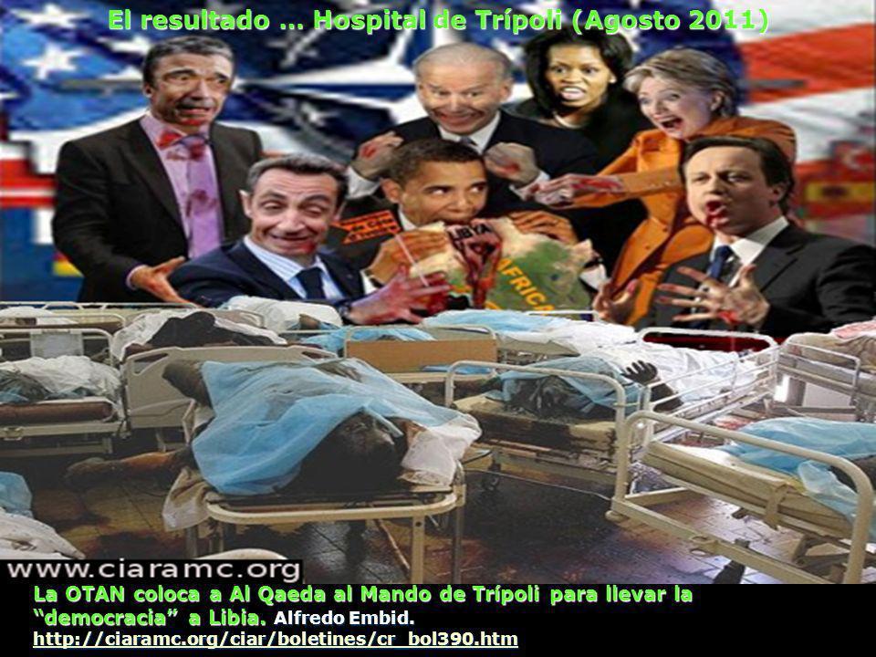 La OTAN coloca a Al Qaeda al Mando de Trípoli para llevar la democracia a Libia.