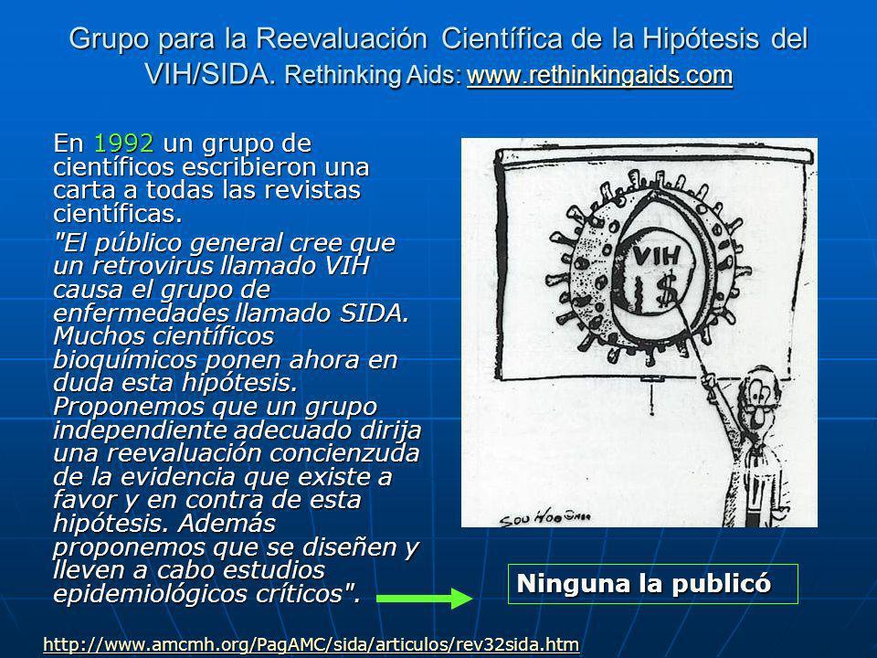 Grupo para la Reevaluación Científica de la Hipótesis del VIH/SIDA.
