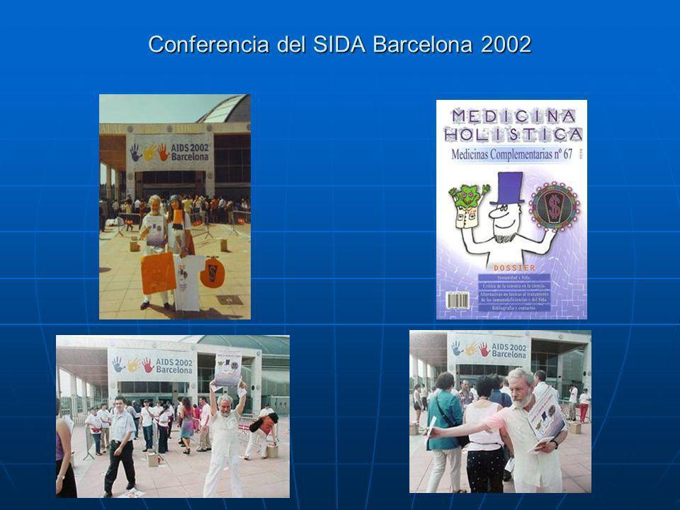 Conferencia del SIDA Barcelona 2002