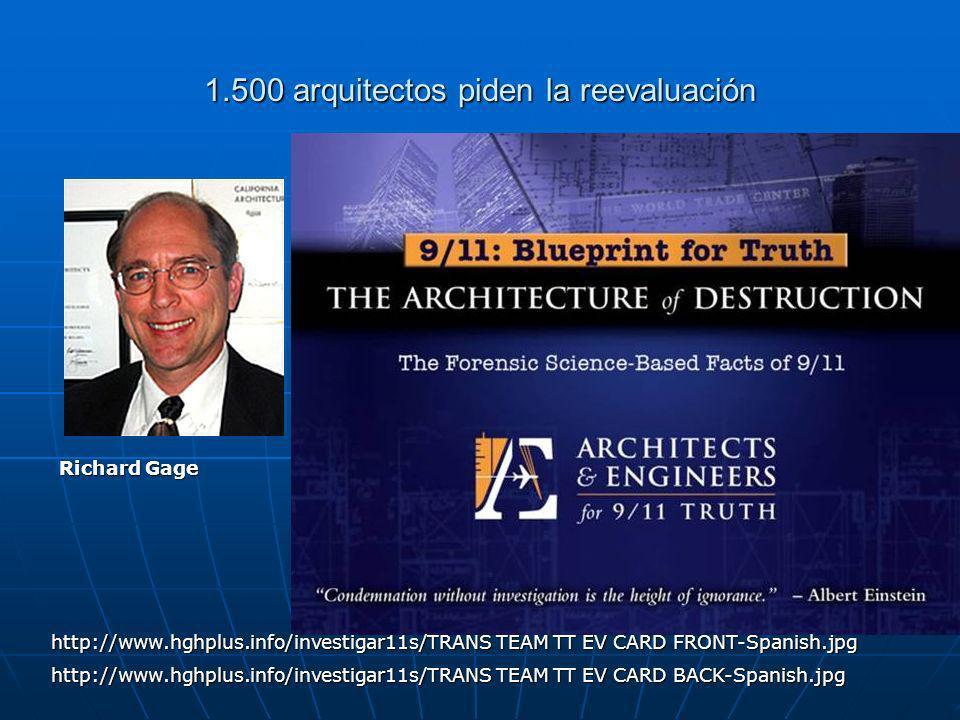 1.500 arquitectos piden la reevaluación Richard Gage http://www.hghplus.info/investigar11s/TRANS TEAM TT EV CARD FRONT-Spanish.jpg http://www.hghplus.info/investigar11s/TRANS TEAM TT EV CARD BACK-Spanish.jpg