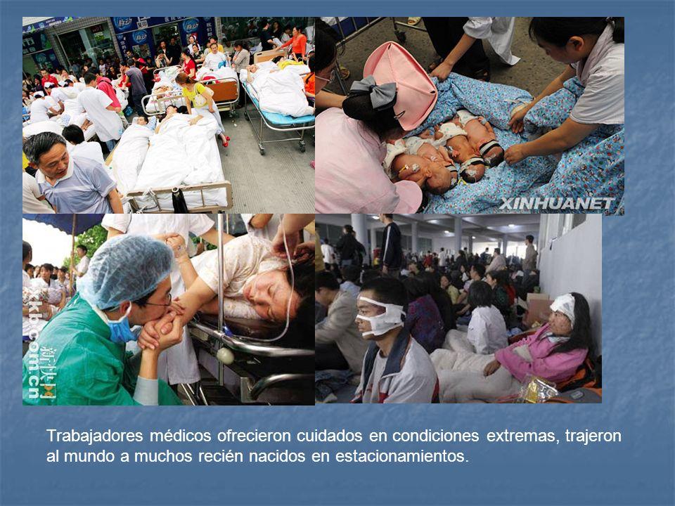 Trabajadores médicos ofrecieron cuidados en condiciones extremas, trajeron al mundo a muchos recién nacidos en estacionamientos.