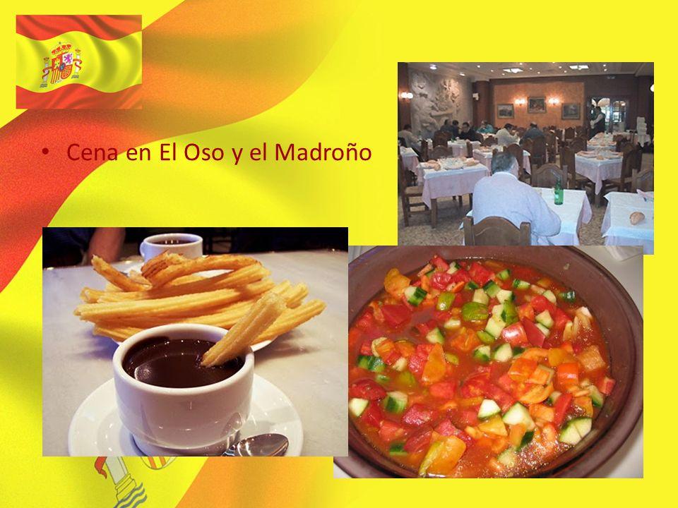Cena en El Oso y el Madroño