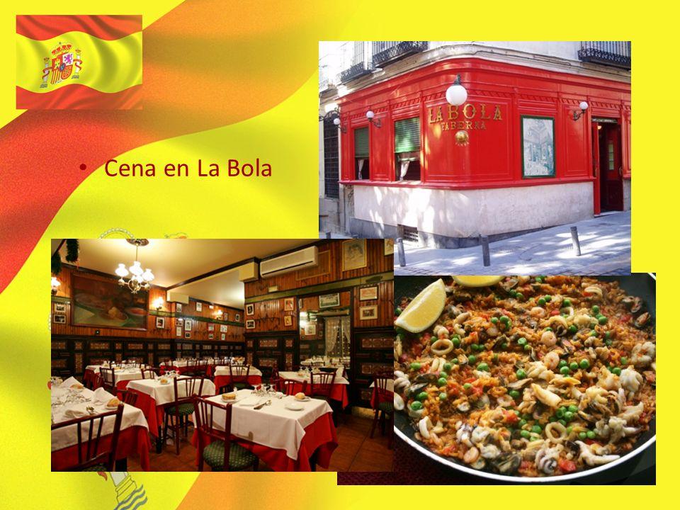 Cena en La Bola