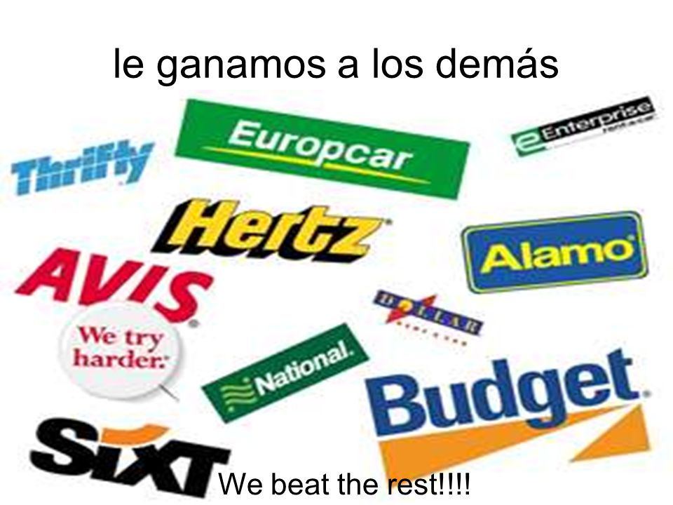 le ganamos a los demás We beat the rest!!!!