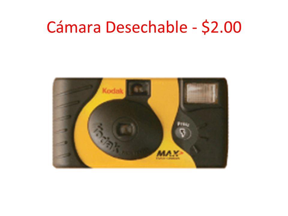 Cámara Desechable - $2.00