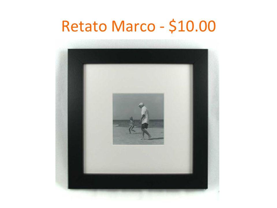 Retato Marco - $10.00