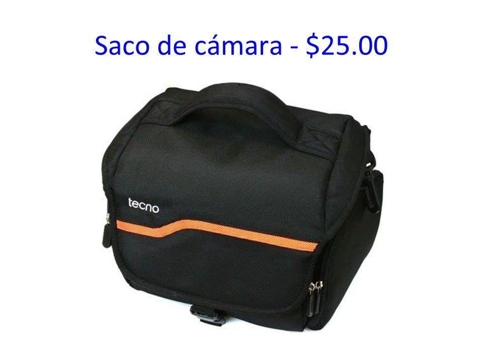 Saco de cámara - $25.00