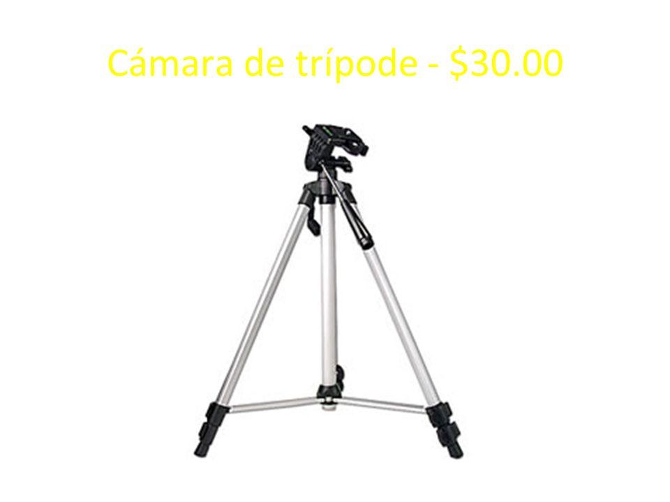Cámara de trípode - $30.00
