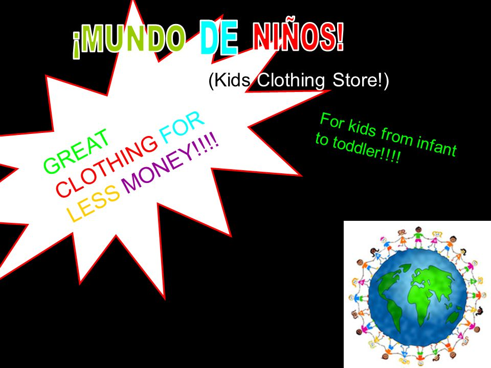 GREAT CLOTHING FOR LESS MONEY!!!! (Kids Clothing Store!) For kids from infant to toddler!!!!