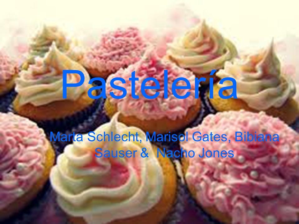 Pastelería Marta Schlecht, Marisol Gates, Bibiana Sauser & Nacho Jones