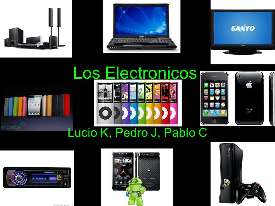 Los Electronicos Lucio K, Pedro J, Pablo C