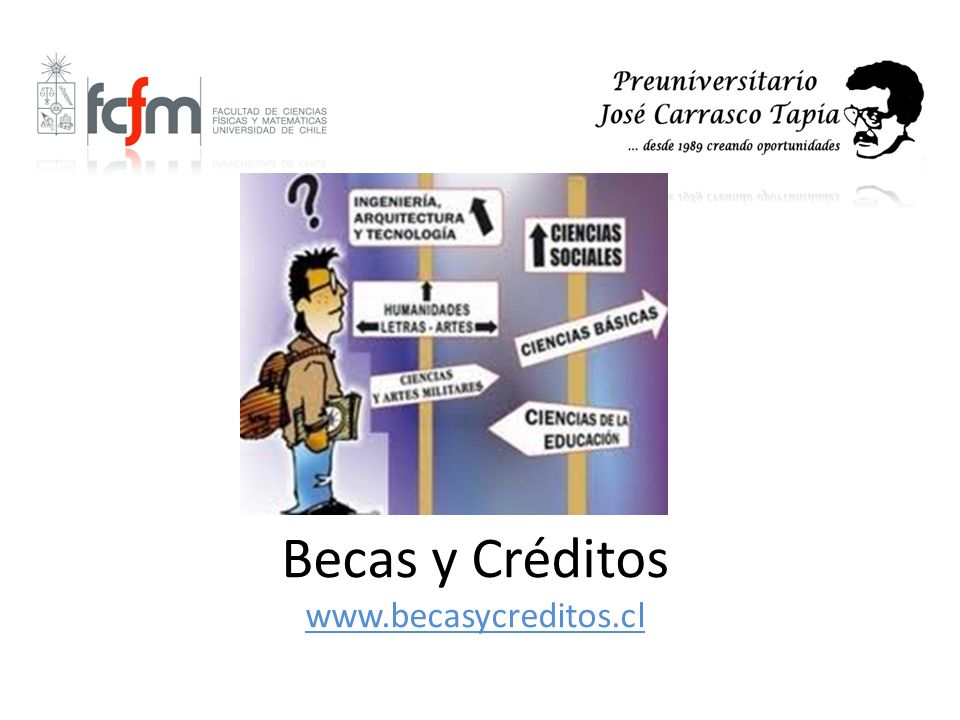 Becas y Créditos www.becasycreditos.cl