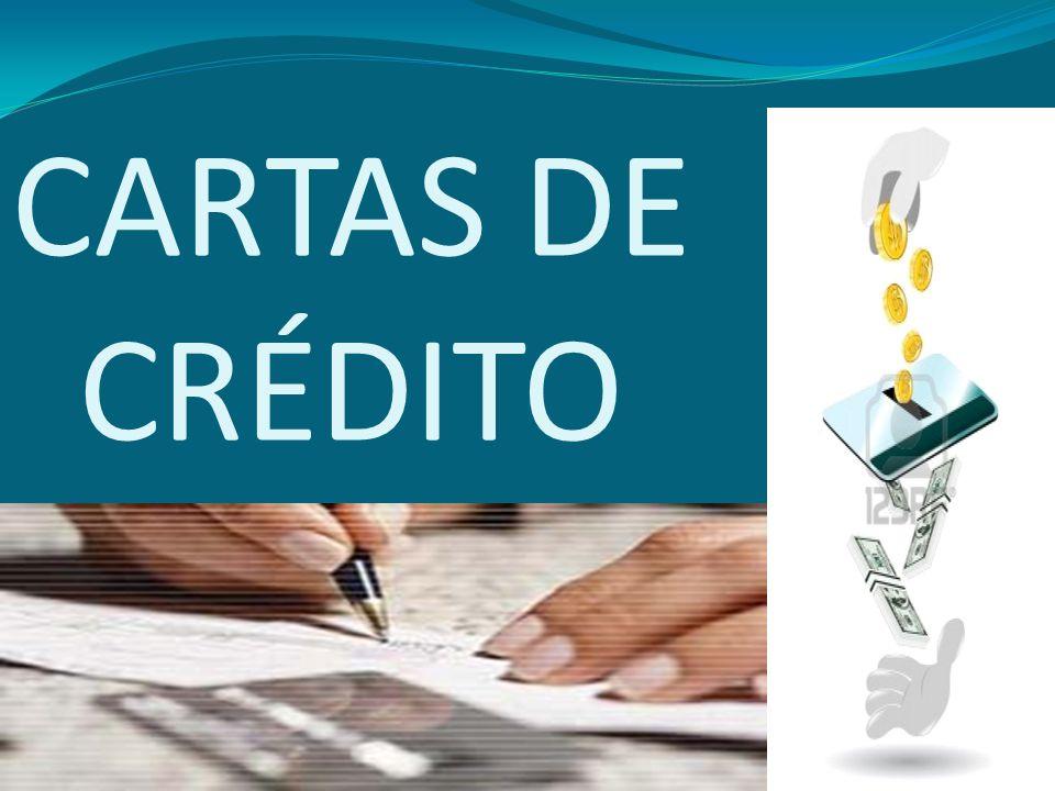 Definición La carta de crédito, es un convenio mediante el cual un banco (BANCO EMISOR), a solicitud y de conformidad con las instrucciones de un cliente (ORDENANTE), se compromete por medio de un Banco Corresponsal (CONFIRMADOR) a pagar a un BENEFICIARIO hasta una suma determinada de dinero, contra la presentación de los documentos estipulados y de conformidad con los términos y condiciones establecidos.