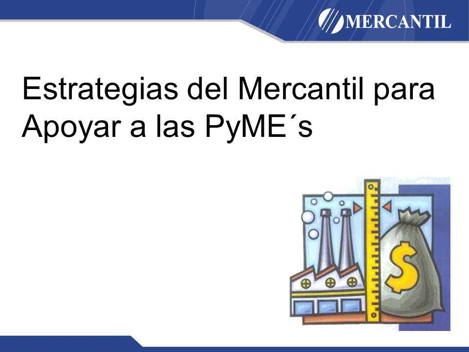 Estrategias del Mercantil para Apoyar a las PyME´s