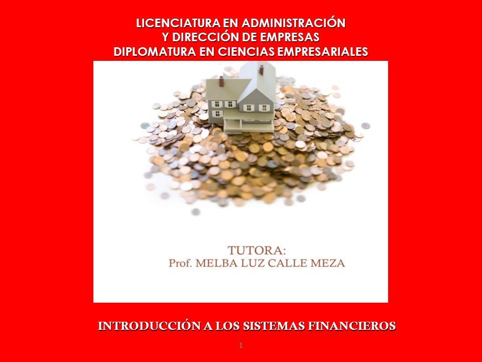 TEMA 9 LOS INTERMEDIARIOS FINANCIEROS BANCARIOS EN ESPAÑA 27/04/20142