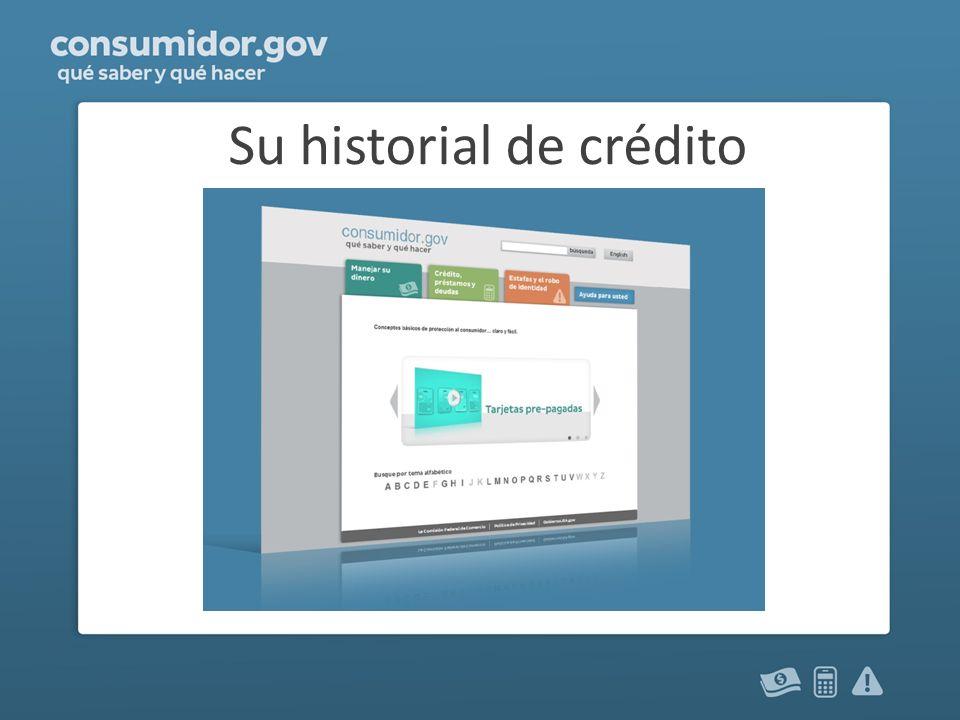 Su historial de crédito