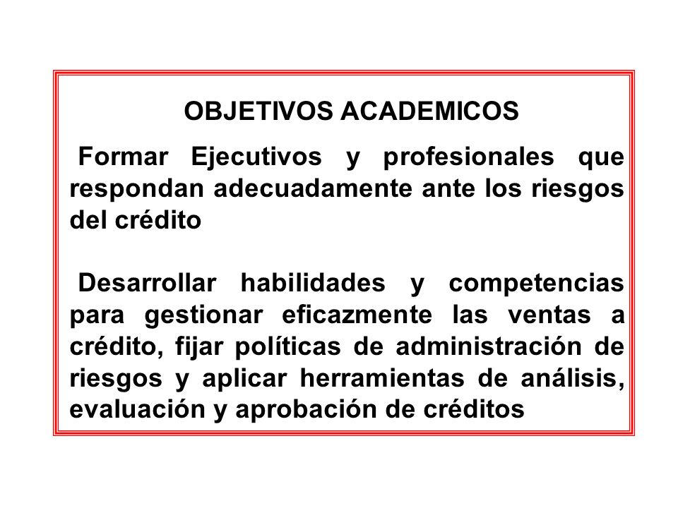 LAS ÁREAS DE CRÉDITO Y CARTERA TIENEN IMPACTO EN TODA LA ORGANIZACIÓN EL IMPACTO DE CRÉDITO Y CARTERA EN LAS ÁREA FUNCIONALES CRECE, MAS QUE PROPORCIONALMENTE CON EL TAMAÑO DE LA ENTIDAD ROMPER LA ARMONIA FUNCIONAL DEL CRÉDITO Y CARTERA PUEDE CONDUCIR A MENOSPRECIAR EL IMPACTO DEL RIESGO SOBRE EL PATRIMONIO, LAS UTILIDADES Y EL FLUJO DE CAJA ARMONIA ADMINISTRATIVA Y FUNCIONAL
