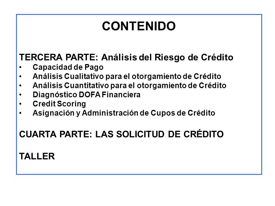 CREDIT SCORING RESUMEN EJECUTIVO - NEGOCIOS PARA COMITÉ CLIENTE 1.