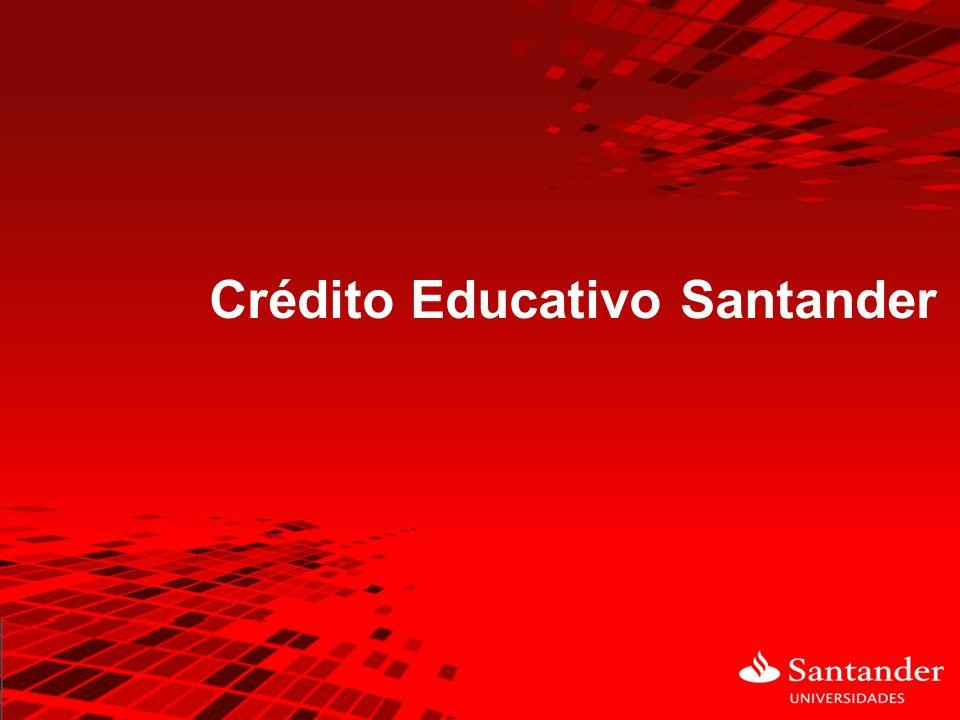 Crédito Educativo Santander