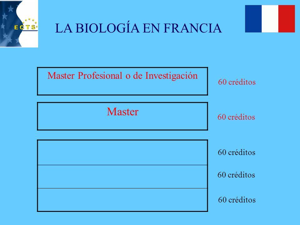 Fórmula: 3, 4, 5 (5,5) + Doctorado Total de créditos ECTS: 240 + 60 (90) Anexo al título GENÉTICA GENERAL: 6 + 6