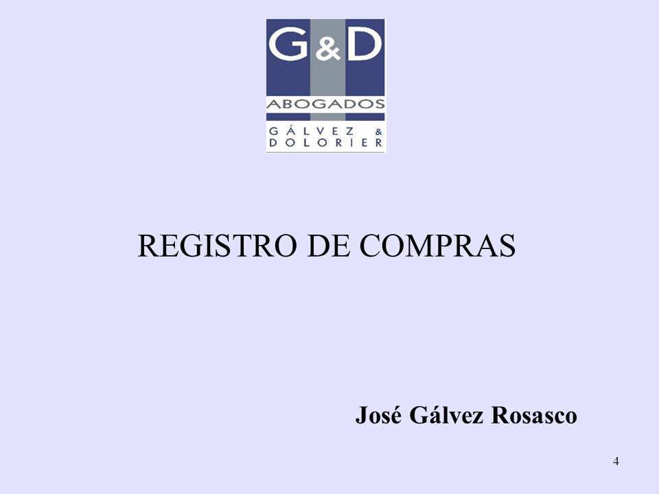 4 REGISTRO DE COMPRAS José Gálvez Rosasco