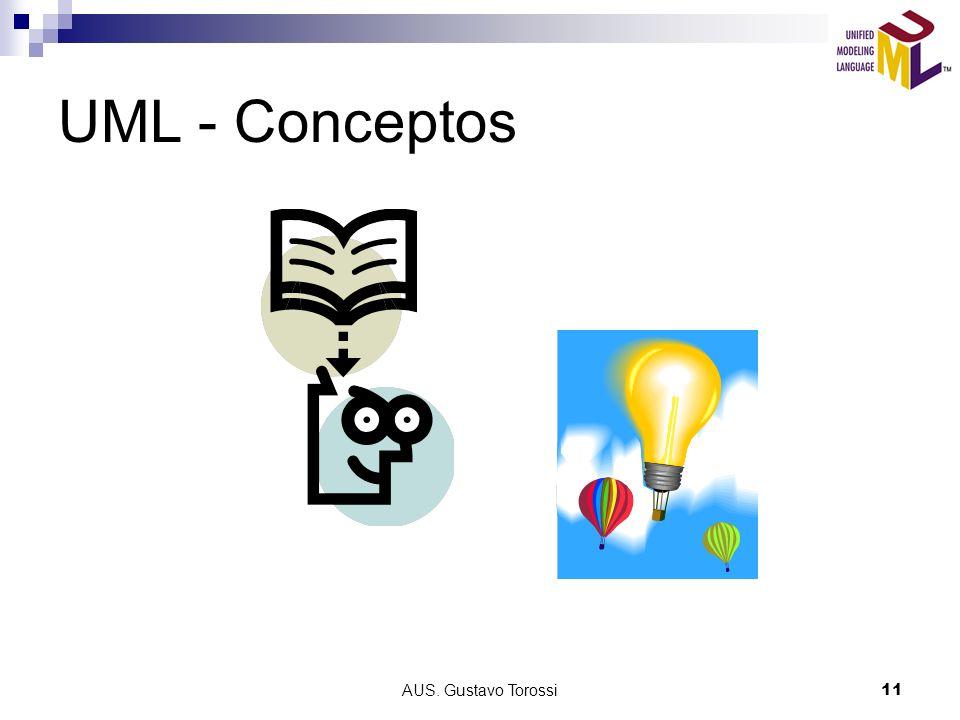 AUS. Gustavo Torossi11 UML - Conceptos