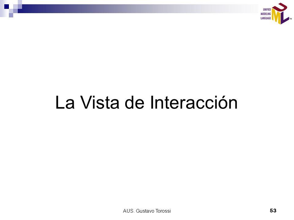 AUS. Gustavo Torossi53 La Vista de Interacción