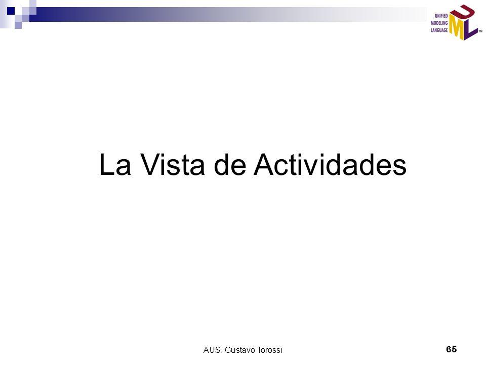 AUS. Gustavo Torossi65 La Vista de Actividades