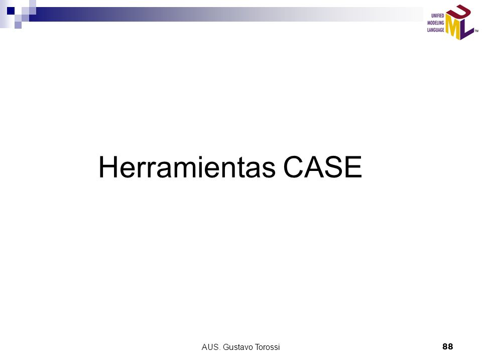 AUS. Gustavo Torossi88 Herramientas CASE