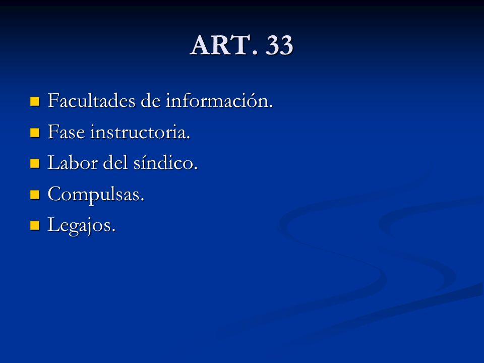 ART.34 Observaciones. Observaciones. Por el deudor.