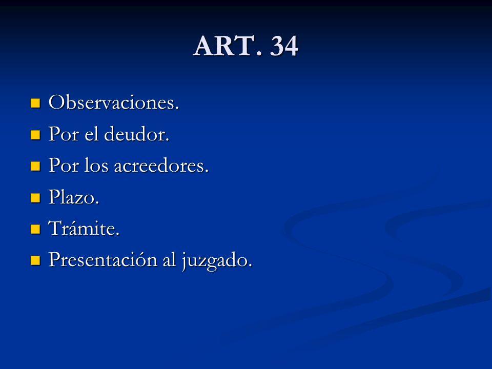 ART.35 El Informe Individual. El Informe Individual.