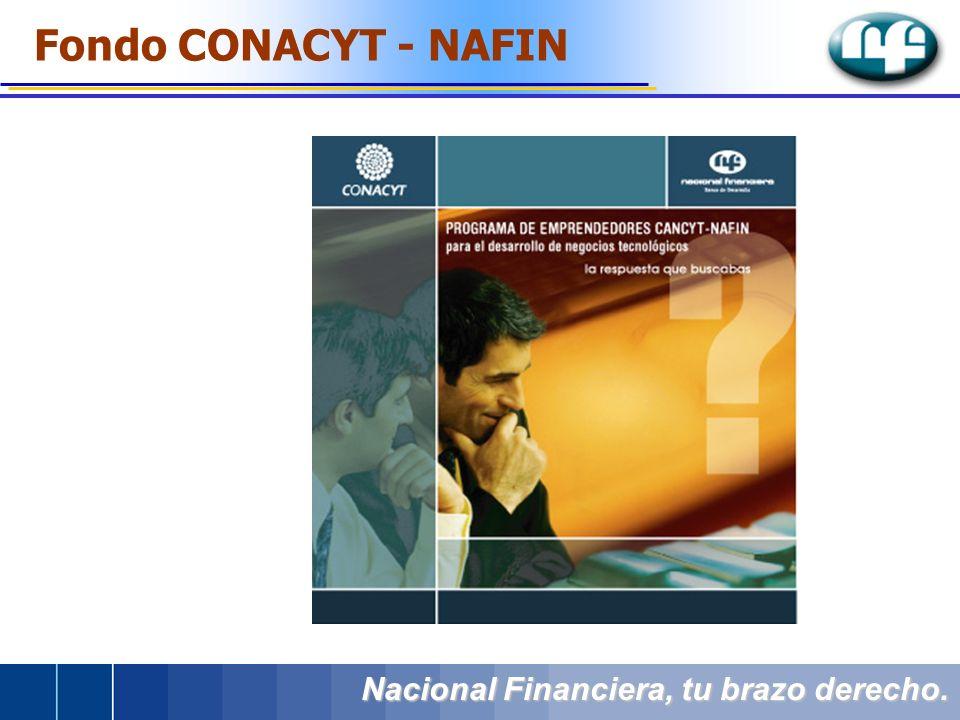 Fondo CONACYT - NAFIN Nacional Financiera, tu brazo derecho.