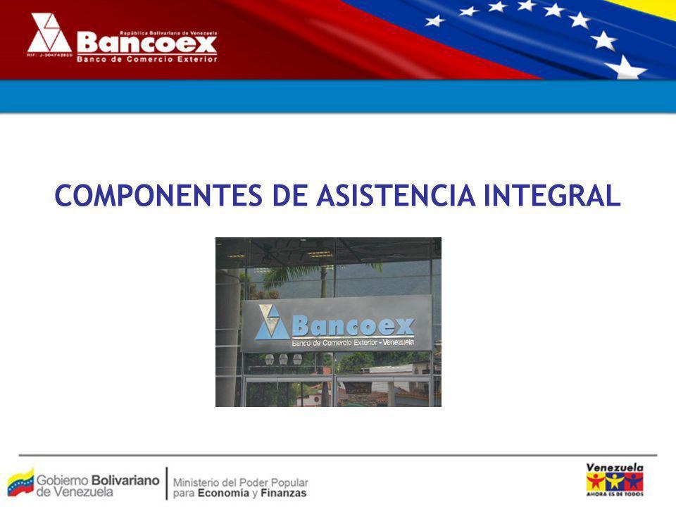 COMPONENTES DE ASISTENCIA INTEGRAL