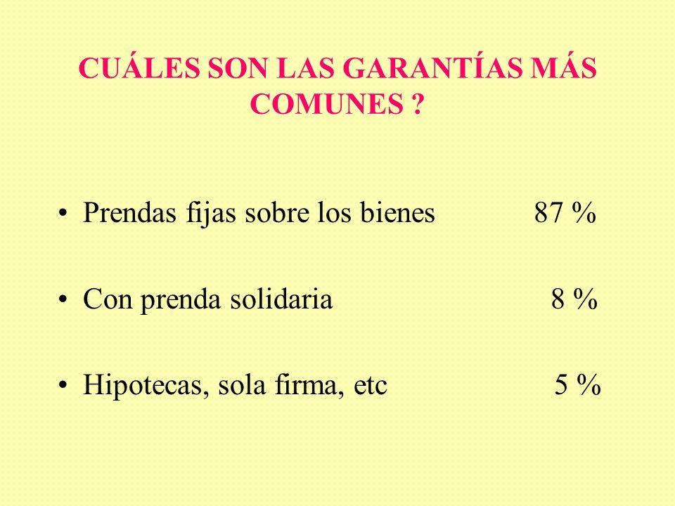 QUIÉNES SON LOS DEMANDANTES DENTRO DEL SECTOR? EMPRESAS AGROPECUARIAS 70 % CONTRATISTAS RURALES 18 % ACOPIOS Y EMPAQUES 11%