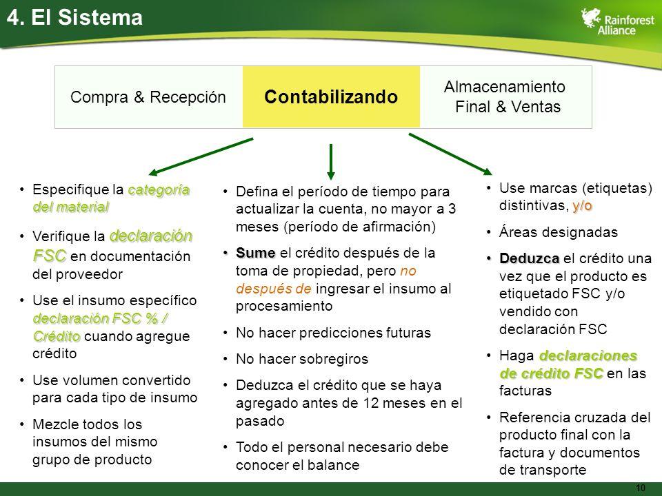 10 Transfer system - essentials Compra & Recepción Contabilizando Almacenamiento Final & Ventas categoría del materialEspecifique la categoría del mat