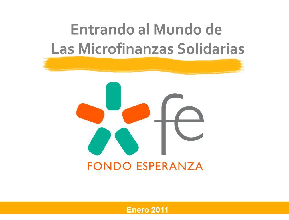 Entrando al Mundo de Las Microfinanzas Solidarias Enero 2011