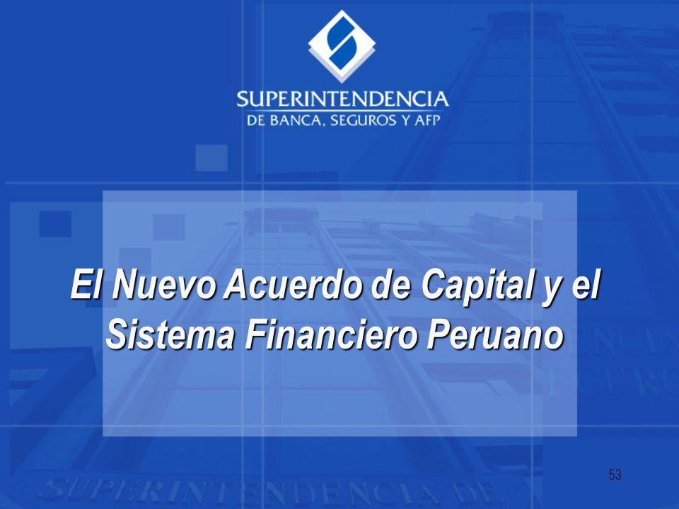 53 El Nuevo Acuerdo de Capital y el Sistema Financiero Peruano