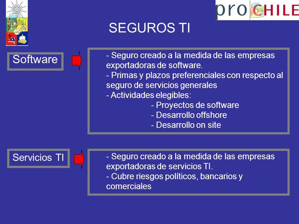 SEGUROS TI Software - Seguro creado a la medida de las empresas exportadoras de software.