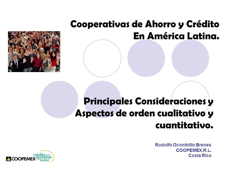 Principales Consideraciones y Aspectos de orden cualitativo y cuantitativo.