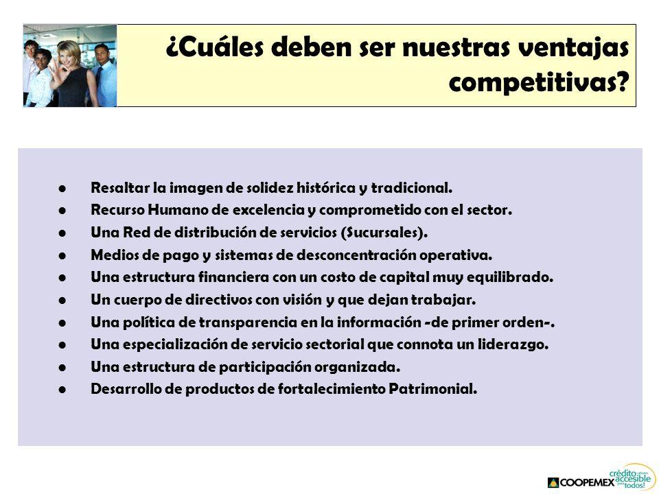 ¿Cuáles deben ser nuestras ventajas competitivas.