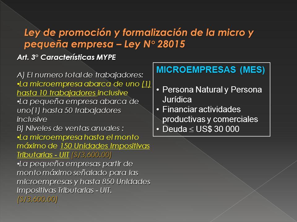 MICROEMPRESAS (MES) Persona Natural y Persona JurídicaPersona Natural y Persona Jurídica Financiar actividades productivas y comercialesFinanciar acti