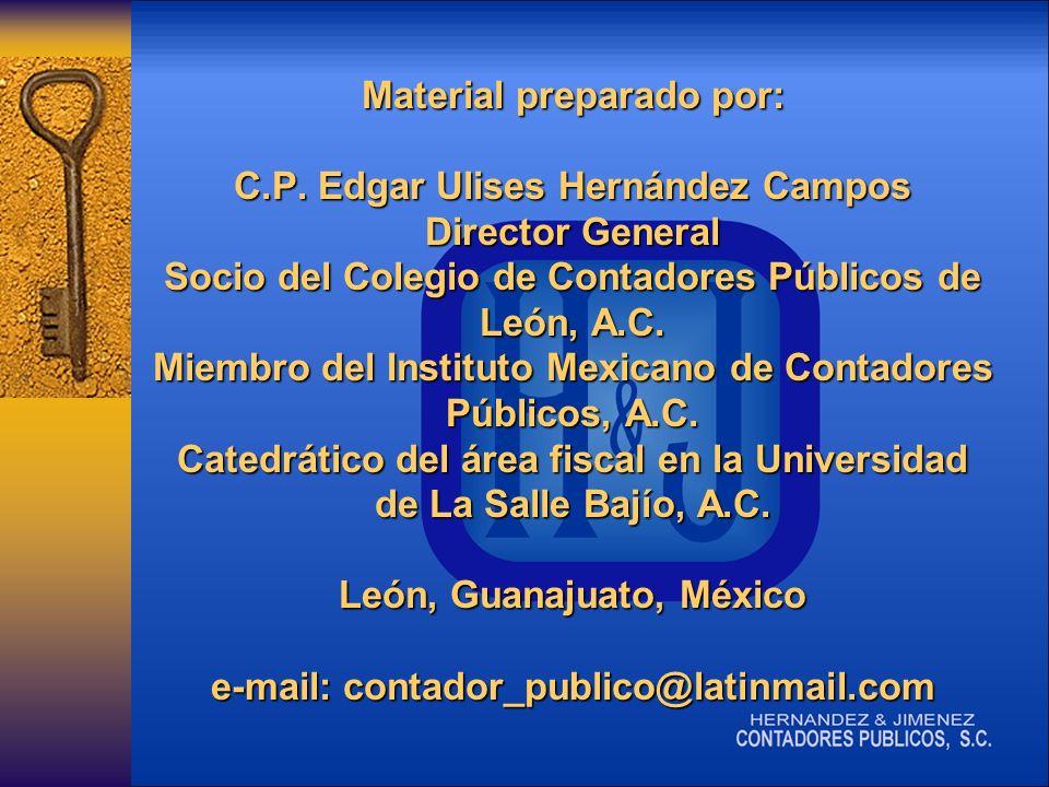 Material preparado por: C.P.